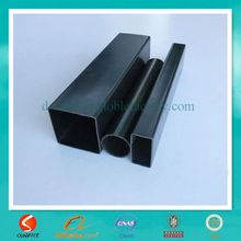 erw thin wall round black or bright annealed steel tube for fence, metal furniture,frame