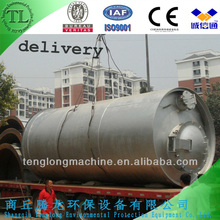 Horizontal Rotation Waste Tyre/Rubber/Plastic Pyrolysis Machinery