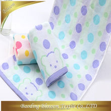custom made cotton velour terry good quality 2015 new design wholesale selectable japanese gauze bath towel