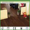 Brown unfinished parquet wood flooring
