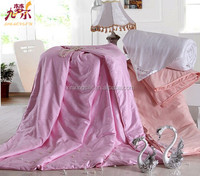 Bedding home textile double silk quilt/wedding comforter set/Comfortable/warm and soft