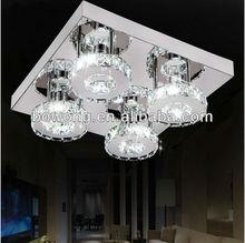 2014 di cristallo di moda ha condotto la luce del soffitto& fai da te hanno portato plafoniera& ha condotto la luce del soffitto