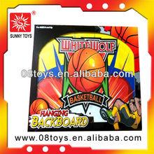 Children wooden outdoor toys manufacturer cartoon basketball board