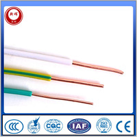 1.5mm 2.5mm Electric Cable PVC Building Wire Copper Electric Wire