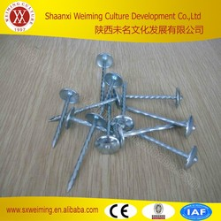 Roofing Nails Umbrella Head, Roofing Nails Coil,Roofing Nails Manufacture in China