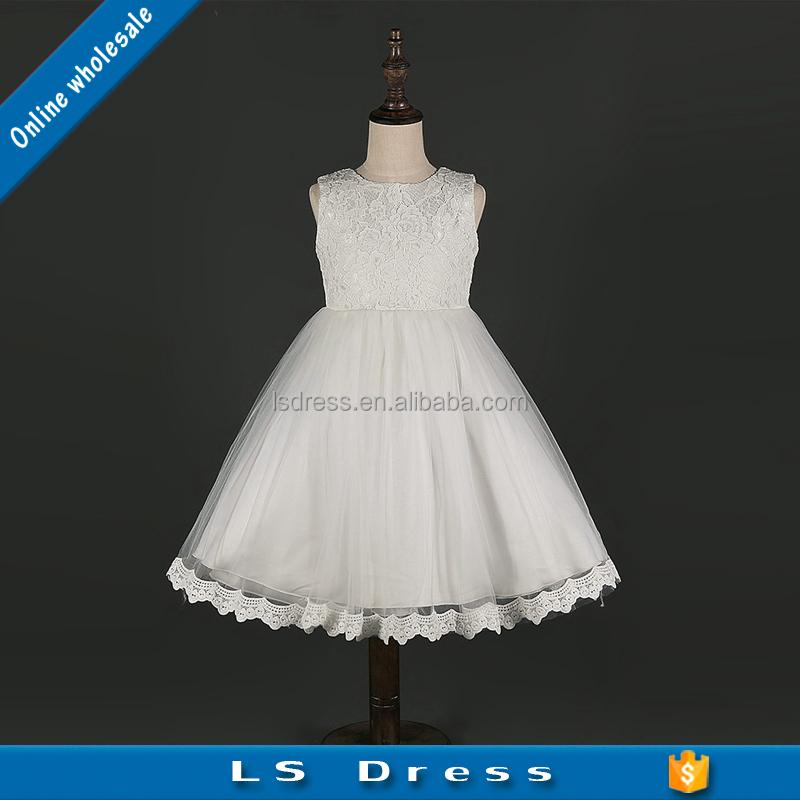 Wholesale modern children nursery clothing kids princess wedding