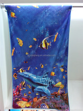 cotton velour printed towel dress beach, beach towel organic cotton, super cheap towel for children