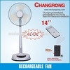 CR-8803A Hot sale rechargeable standing fans solar charging available