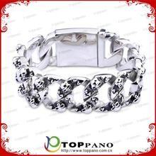 stainless steel men custom bracelet