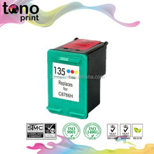 135 remanufacture ink jet cartridge C8766H for 135 HP 135 C8766H
