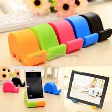 elephant shaped hand cell phone holder/mobile phone holder