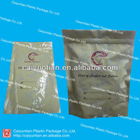 laminated aluminium Doy pouch with ziplock, stand up plastic pouch with zipper, plastic packing bag for dried fruit