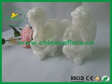 Two angel set artificial lamp cute decoration led candle