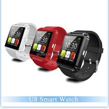 """Hottest 1.48"""" U8 Smart Watch Android Smartwatch Phone Shenzhen MTK6260 Bluetooth"""
