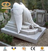 Chinese cheap Granite custom shape birds headstones