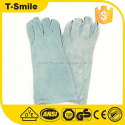 machinist hand protector working denim fabric liner on fingers labor gloves for hardware industrial use