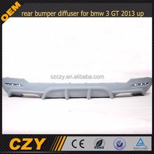 rear bumper diffuser for bmw 3 GT MTECH BUMPER 2013 up