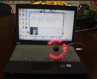 led fan Hand-held portable mini message fan