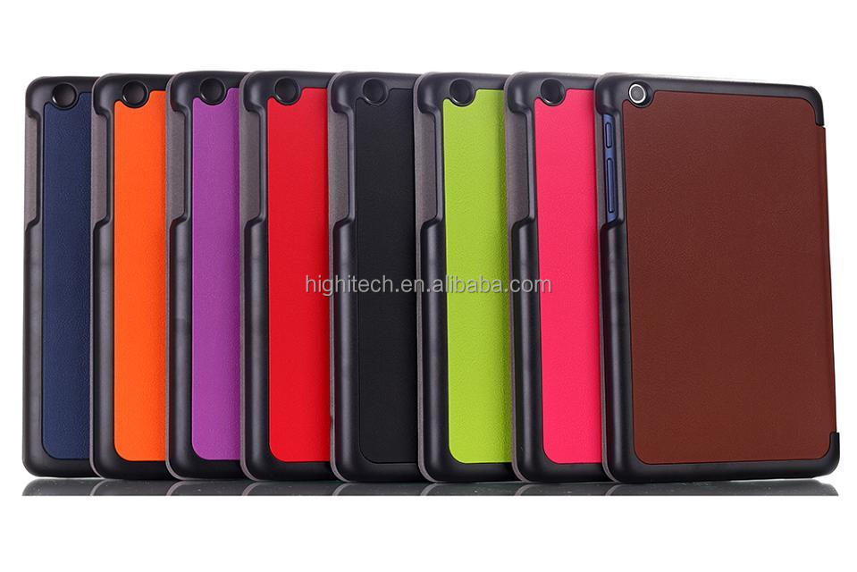 Ultra Slim Stylish Leather Stand Case Cover for Lenovo A5500
