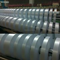 2015 newest satin ribbon Slitting Machine for printed fabric label