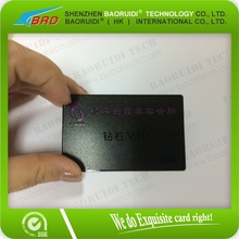 wholesale Manufacturer Fashion Cmyk Printing Metal Card for Promotional