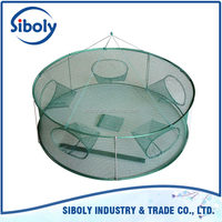 2015 Chinese factory Wholesale custom high strength fish cage / fish farming cage / fish cage net