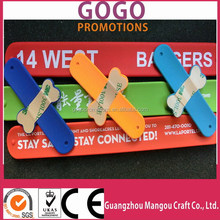 Low cost one direction slap bracelet for gift and wedding sourvenir,High quality custom made colorful silicon slap band bracelet