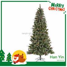 2015 new design hot indoor solar christmas tree lights