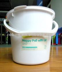 nappy pail with lid