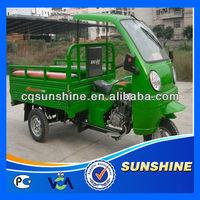 Low Cut High Performance gasoline auto dumping tricycle