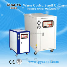 GY-12W chiller water cooled 34kw price/China chiller manufacturer/cnc water chiller
