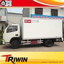 4x2 diesel engine 79KW 100hp 1ton 1.5ton 1.8ton euro4 dry cargo box truck mini van