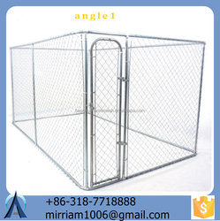 dog use stocked eco-friendly new style popular galvanized dog cages / kennels