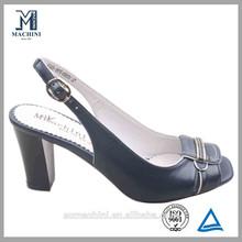 sheepskin black fasion heels gladiator women sandal
