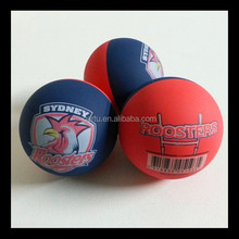 2015 New Arrival custom logo printed hollow super bounce balls