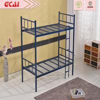 Morden very strong simple design heavy duty metal double decker bed