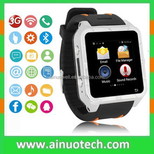 3G smart watch and phone with GPS Wifi Waterproof Capacitive Touch Screen WCDMA smart phone watch