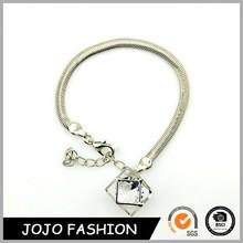 Luxury fashion friendship forever crystals jewelry 14k gold snake bangle bracelet nepal bracelet/
