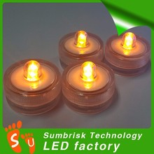 Alibaba Chian factory high quality led tea lights submersible