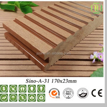 wpc deep embossed texture oak floor laminate flooring exporter in china