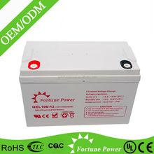 High quality dry solar lead acid battery 24v 100ah pack