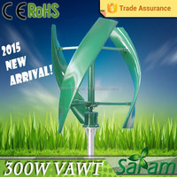 S-type 3-bladed 300W 12V 24V decorative windmill for sale