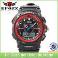 Reloj Deportivo con fecha, resistente al agua EP1302 doble tiempo