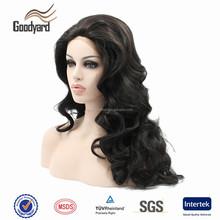Heat Resistant Fiber mono front synthetic wig