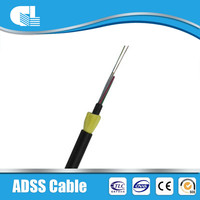 OEM avaliable adss sm optical fiber cable price,adss 32 core fiber optic cable