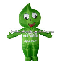 2015 hot sale inflatable advertising cartoon