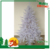 2015 new design hot sale white metal christmas tree