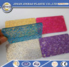 wholesale decorative glitter plastic sheets