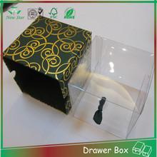 best design custom logo sliding box,high end sliding packing box for gift