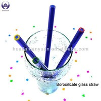 Food grade lead free Eco-Friendly colored custom drinking straw with heat resistance